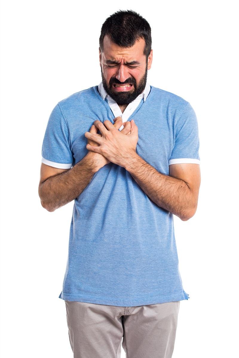 dolor de pecho por ansiedad malestar síntoma dolencia física
